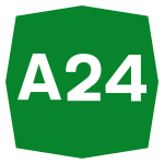 A24, chiusura rampe via Togliatti per lavori su complanari