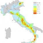 LE CITTÀ ITALIANE A RISCHIO TERREMOTO
