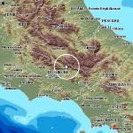 Terremoto: lieve scossa di mag. 2.3 fra Lazio e Abruzzo. Un evento a Foggia di mag.3.5