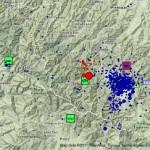 Terremoto: INGV, la sequenza sismica nella provincia di Forlì-Cesena