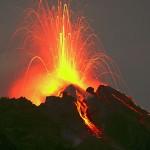 Stromboli, nuova attivita' eruttiva