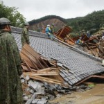 Il tifone Talas travolge il Giappone: 90 tra morti e dispersi