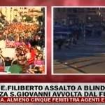 INDIGNATI A ROMA, LA DIRETTA VIDEO