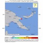 TERREMOTO: FORTE SCOSSA A PAPUA NUOVA GUINEA, 6.7 GRADI RICHTER
