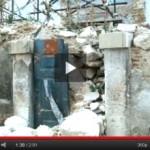 VIDEO: TRA LE MACERIE DEL QUARTO DI SAN PIETRO A L'AQUILA