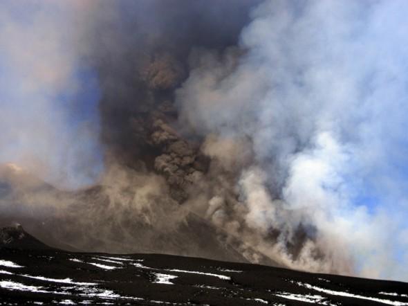 Etna, sesta eruzione dell'anno in corso