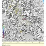 L'Aquila, l'evoluzione mensile del terremoto. Gennaio 2011