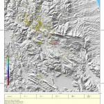 L'Aquila, l'evoluzione mensile del terremoto. Maggio 2011