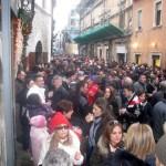 VIGILIA DI NATALE, APERITIVO A 'JU BOSS': LE FOTO