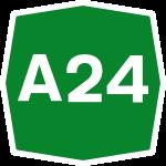 A24:GIOVEDI' 29 CHIUSURA SVINCOLO GRANDE RACCORDO ANULARE