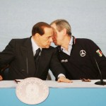 Berlusconi, ormai in pieno delirio, dà i numeri su L'Aquila