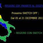 DIGITALE TERRESTRE: SWITCH OFF IN ABRUZZO A MAGGIO 2012