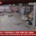 L'AQUILA, SAN SALVATORE: OSPEDALE TRA CONTAINER E DISAGI (VIDEO)