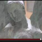 VIDEO: LA FONTANA LUMINOSA PARLA DELLA NEVICATA DEL 2012