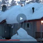 VIDEO: COME RIMUOVERE LA NEVE DAI TETTI