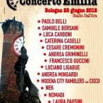 25 GIUGNO: CONCERTO PER L'EMILIA 2013. POLEMICHE SULLA BENEFICENZA