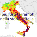 ECCO TUTTI I TERREMOTI PIÙ FORTI DI M.5,5 DELLA STORIA D'ITALIA