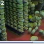 VIDEO: IL CROLLO DELLE FORME DI PARMIGIANO DURANTE IL TERREMOTO IN EMILIA