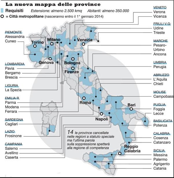 Italia Cartina Province.6aprile Itfoto Province Ecco La Nuova Mappa D Italia 6aprile It