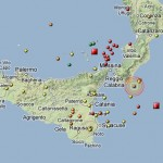 CALABRIA E SICILIA: 12 SCOSSE DI TERREMOTO IN 2 GIORNI