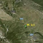 L'AQUILA: SCIAME SISMICO IN CORSO SULL'ALTOPIANO DELLE ROCCHE