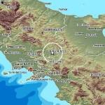 TERREMOTO IN CAMPANIA: SERIE DI SCOSSE, LA PIU' FORTE DI M.4,1