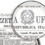 L'AQUILA, ZONA FRANCA URBANA: ECCO LA GAZZETTA UFFICIALE N. 204