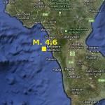16.10.2012: TERREMOTO M. 4,6 IN CALABRIA ALLE 17:10