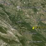 7.11.2012: TERREMOTO M.2,2 NELL'AQUILANO NEI PRESSI DI STIFFE