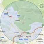 17.11.2012: TERREMOTO L'AQUILA: FORTE SCOSSA MAGNITUDO 3.2 NELLA NOTTE (PIZZOLI)