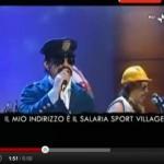 """VIDEO: ELIO E LA CANZONE PER BERTOLASO, """"MARCIO MAN"""""""