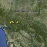 25.1.2013: FORTE SCOSSA DI TERREMOTO IN TOSCANA, MAGNITUDO 4.8