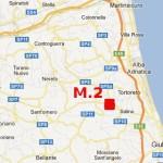 29.1.2013: TERREMOTO M.2 SULLA COSTA ABRUZZESE, ZONA TORTORETO