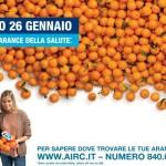 SABATO 26 GENNAIO: IN PIAZZA LE ARANCE DELLA SALUTE PER METTERE IL CANCRO ALL'ANGOLO
