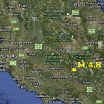 TERREMOTO: FORTE SCOSSA M.4,8 A SORA, TREMANO PALAZZI ANCHE A ROMA