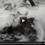 VIDEO: FERRARA E GARFAGNANA, ESCE GAS DAL SOTTOSUOLO, CONTROLLI DELL'INGV