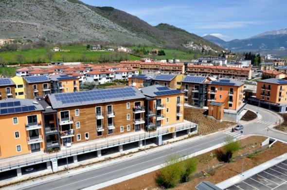Terremoto centro italia: sono 63 le persone presso map o progetto c.a.s.e. A l'aquila
