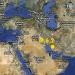 TERREMOTO M.6,2 IN IRAN VICINO UNA CENTRALE NUCLEARE, REGISTRATO ANCHE A L'AQUILA