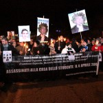 SISMA L'AQUILA: ANCHE IN DIRETTA SU INTERNET LA FIACCOLATA COMMEMORATIVA