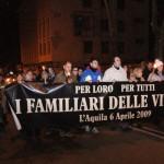 L'AQUILA, 5 ANNI DAL TERREMOTO: MODIFICHE ALLA VIABILITA' PER LA FIACCOLATA