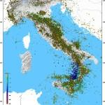 TERREMOTO M 3.1 A ORICOLA, TRA L'AQUILA E ROMA