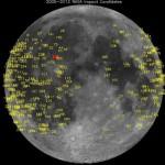 SPAZIO, METEORITE IMPATTA SULLA LUNA: GIGANTESCA ESPLOSIONE RIPRESA DALLA NASA