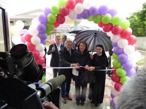 San Gregorio (L'Aquila), inaugurazione nuova Casa di accoglienza