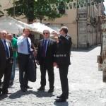 IL MINISTRO D'ALIA IN VISITA A L'AQUILA
