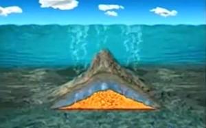 Il vulcano Marsili in un video di Superquark
