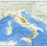 QUASI 1700 TERREMOTI A OTTOBRE 2013 IN ITALIA