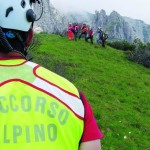 GRAN SASSO: SALE IN QUOTA E SI STANCA, INTERVIENE IL SOCCORSO ALPINO
