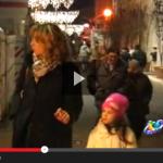 VIDEO: NATALE NEL CENTRO STORICO FANTASMA A L'AQUILA