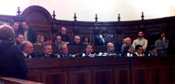 La conferenza in cui Cialente ha annunciato il ritiro delle dimissioni