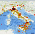 INGV: NEL 2013 OLTRE 21.300 TERREMOTI IN ITALIA